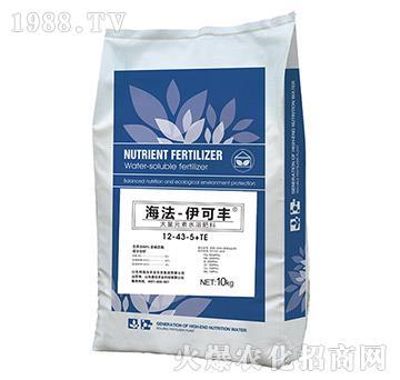 大量元素水溶肥料12-43-5+TE-伊可豐-海法