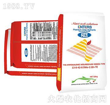 水溶肥料13-8-42-0.5Mo-2.1B+TE-恩特施