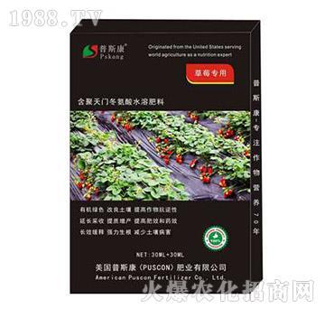 草莓专用含聚天门冬氨酸