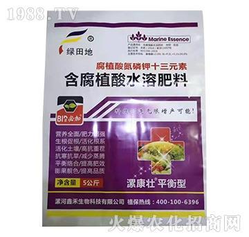 腐殖酸氮磷钾十三元素-漯康壮-绿田地