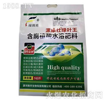 含腐殖酸水溶肥料-绿叶王-漯康壮-绿田地