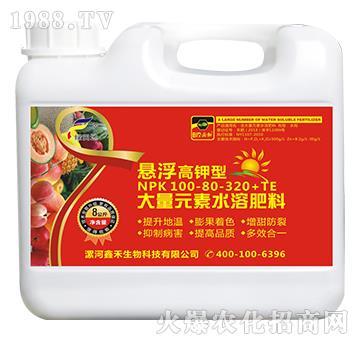 悬浮高钾型大量元素水溶肥料100-80-320+TE-绿田地
