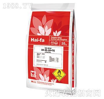 高浓缩复合肥料10-45-10+TE-海法・魔力法-美巴夫
