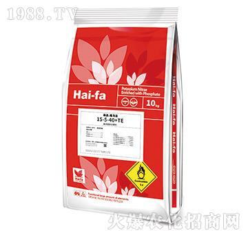 高浓缩复合肥料15-5-40+TE-海法・魔力法-美巴夫