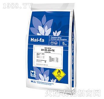 高浓缩复合肥料10-45-10+TE-海法・魔力法(5kg)-美巴夫