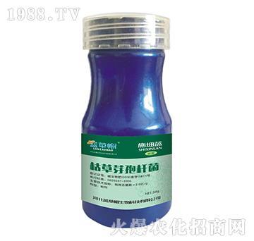 枯草芽孢桿菌-施細藍-藍草帽生物