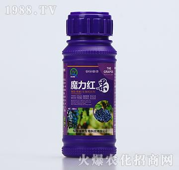 葡萄果树生物转色剂-魔力红果(100ml)-强农生物