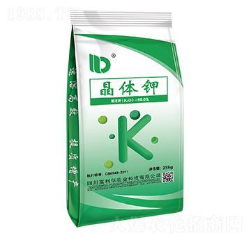 晶体钾(25kg)-富利华