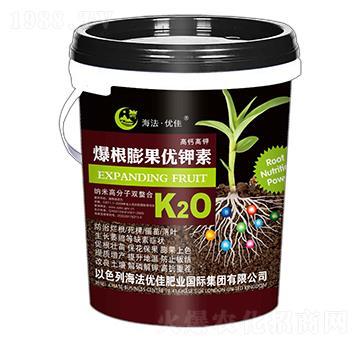 高钙高钾爆根膨果优钾素-海法优佳
