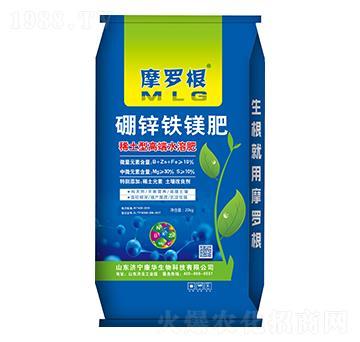 硼鋅鐵鎂肥-摩羅根-康華生物