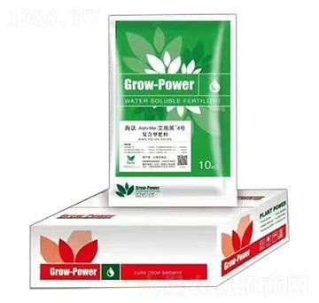 海法·艾施美4号40-10-10+TE-复合型肥料-鑫农绿源