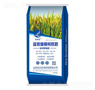 硅鈣鉀鎂中微量元素肥-返青爆根柯權肥-啟力農業