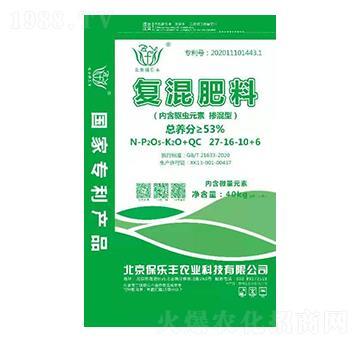復混肥料27-16-10+6-保樂豐