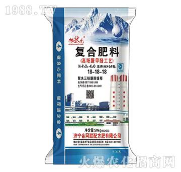 高塔脲甲醛工藝復合肥料18-18-18-根狀元-金網聯