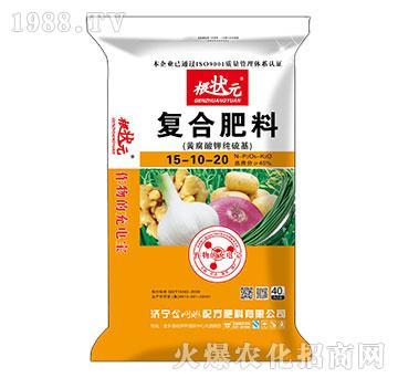 黃腐酸鉀純硫基復合肥料15-10-20-根狀元-金網聯