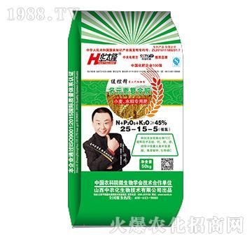 小麦水稻专用多元素复合肥25-15-5-华太隆-中农化