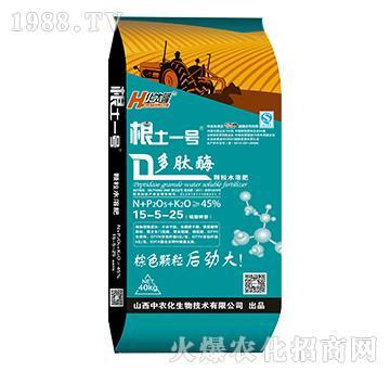 多肽酶颗粒水溶肥15-5-26-根土一中农化