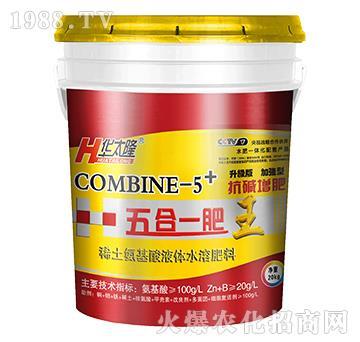稀土氨基酸液体水溶肥料-五合一肥王-中农化
