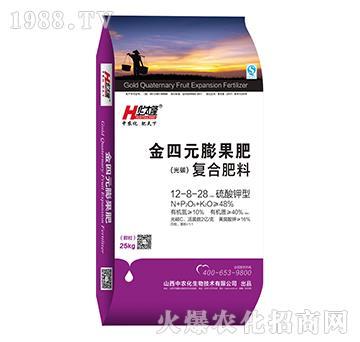 硫酸钾型复合肥料12-8-28-金四元膨果肥-中农化