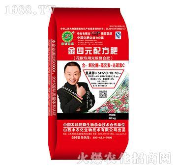 花椒专用金四元配方肥-18-18-18-中农化