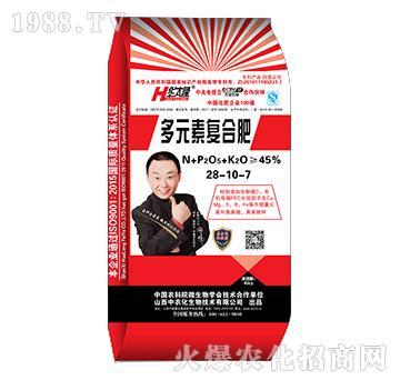 多元素复合肥28-10-7-华太隆-中农化