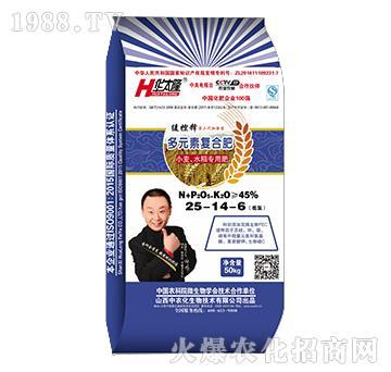 小麦水稻专用多元素复合肥25-14-6-华太隆