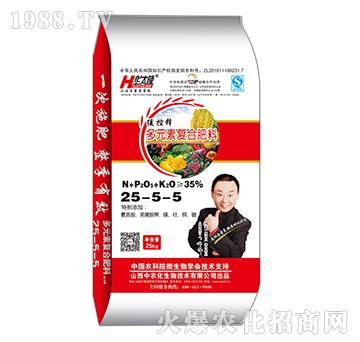 水稻专用多元素复合肥料25-5-5-华太隆-中农化