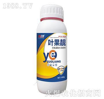 含氨基酸水溶肥料-叶果靓-中农化