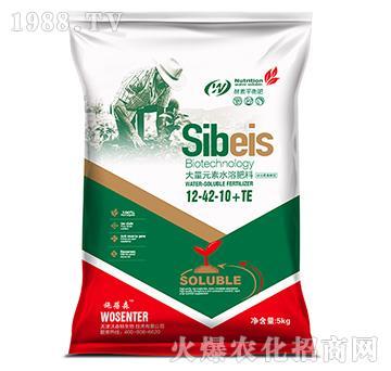 硅谷氨基酸型大量元素水溶肥料12-42-10+TE-沃森特