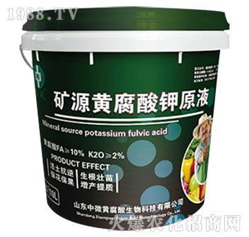 矿源黄腐酸营养液-中微