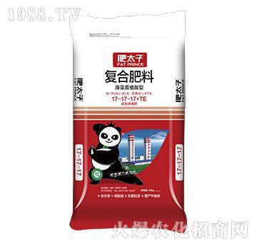 海藻腐殖酸型復合肥料17-17-17+TE-肥太子