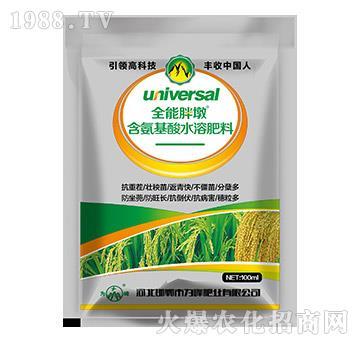 水稻專用含氨基酸水溶肥料-全能胖墩-為峰