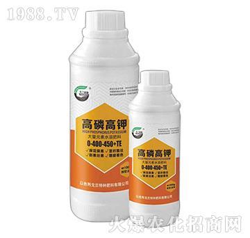 大量元素水溶肥料0-400-450+TE-高磷高鉀-戈蘭優施