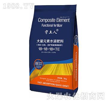 大量元素水溶肥料18-18-18+TE-守土人-爱保农