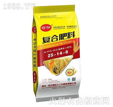 硫酸钾型复合肥料25-14-6-鄂阳