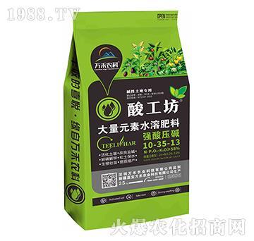 大量元素水溶肥料10-30-13-酸工坊-萬禾農科