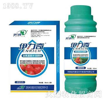 草莓專用含氨基酸水溶肥料-伊力奇-科德寶