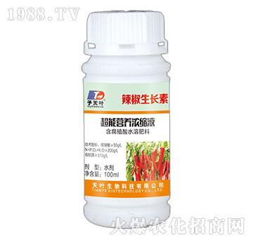 超能营养浓缩液-辣椒生长素-天叶生物