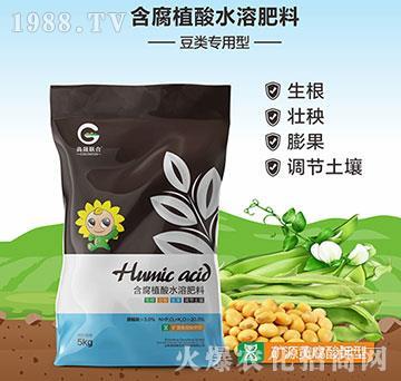 豆类专用矿源黄腐酸钾型