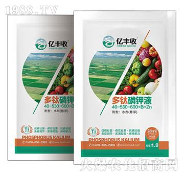多肽磷鉀液40-530-600+B+Zn-億豐收-安得泰
