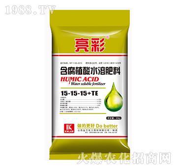 含腐植酸水溶肥料15-15-15+TE-亮彩-金兰化工