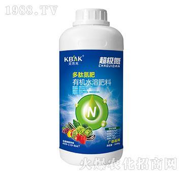 广谱通用多肽氮肥有机水溶肥料-超级氮-克芭克