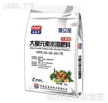 大量元素水溶肥料20-20-20+TE-施立佳-易莱丰