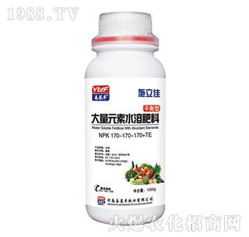 1000g大量元素水溶肥料170-170-170+TE-施立佳-易莱丰