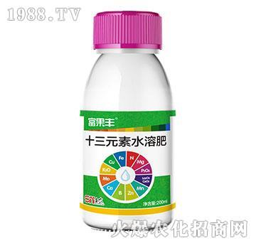 200ml十三元素水溶肥-富果丰-沪联