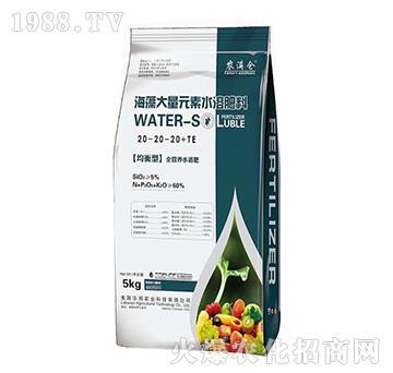 平衡型海藻大量元素水溶肥20-20-20+TE-農滿倉-宸田農業