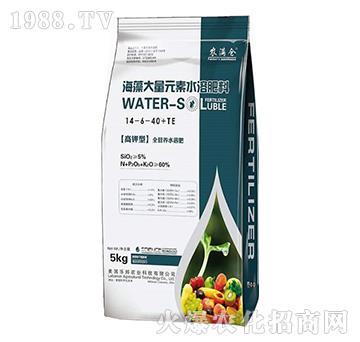 高鉀型海藻大量元素水溶肥14-6-40+TE-農滿倉-宸田農業