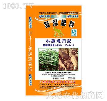 木薯通用型复混肥料10-4-11-威麦斯