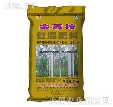 复混肥料18-6-11-金高桉-乐土生物