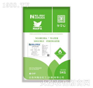 大量元素水溶肥12-6-42+TE-诺锐达-海法化工